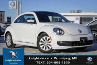 Certified Pre-Owned 2013 Volkswagen Beetle Coupe w/ Sunroof/Winter rims tires 0.99% Financing Available OAC FWD 2dr Car