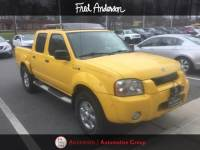 Pre-Owned 2003 Nissan Frontier SVE Truck Standard Bed Crew Cab For Sale | Raleigh NC