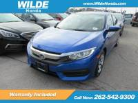 Certified Pre-Owned 2016 Honda Civic LX FWD 4dr Car