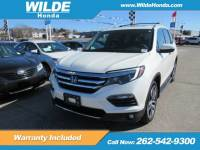 Certified Pre-Owned 2016 Honda Pilot Elite With Navigation & AWD