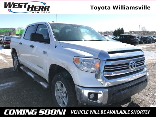 Photo 2016 Toyota Tundra SR5 Truck CrewMax For Sale - Serving Amherst