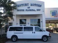 2010 GMC Savana Passenger LT 15 Passenger Van Clean 1 Owner CarFax