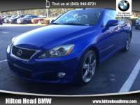 2010 LEXUS IS 250C Convertible * Very Clean Trade In * Satellite Radi Convertible Rear-wheel Drive