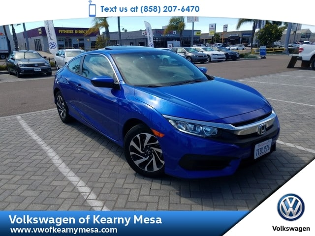 Photo 2016 Honda Civic Coupe LX-P Coupe Front Wheel Drive