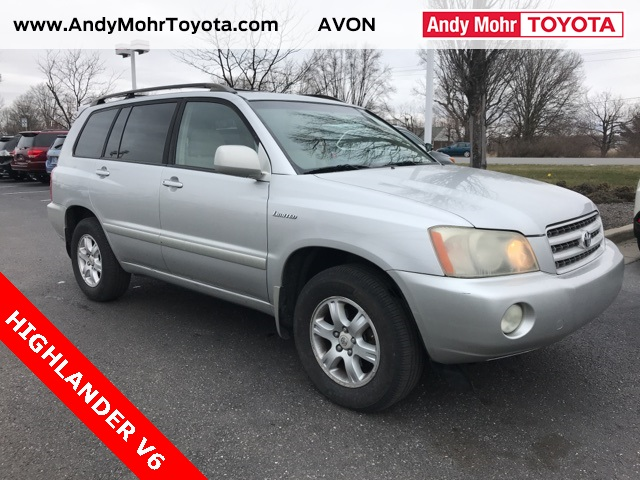 Photo Pre-Owned 2002 Toyota Highlander Limited AWD 4D Sport Utility