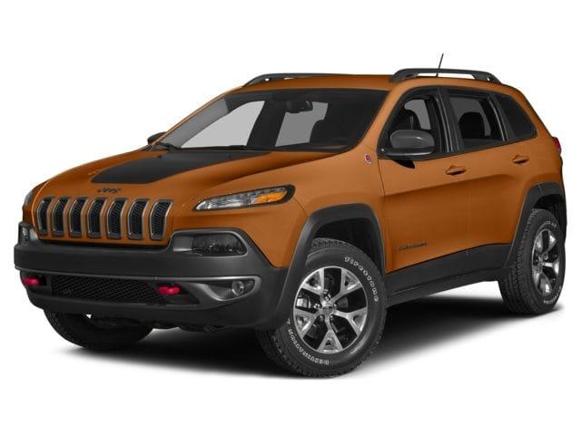 Photo Used 2015 Jeep Cherokee Trailhawk SUV for sale in Midland, MI