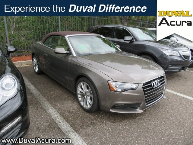 Photo Used 2014 Audi A5 For Sale  Jacksonville FL