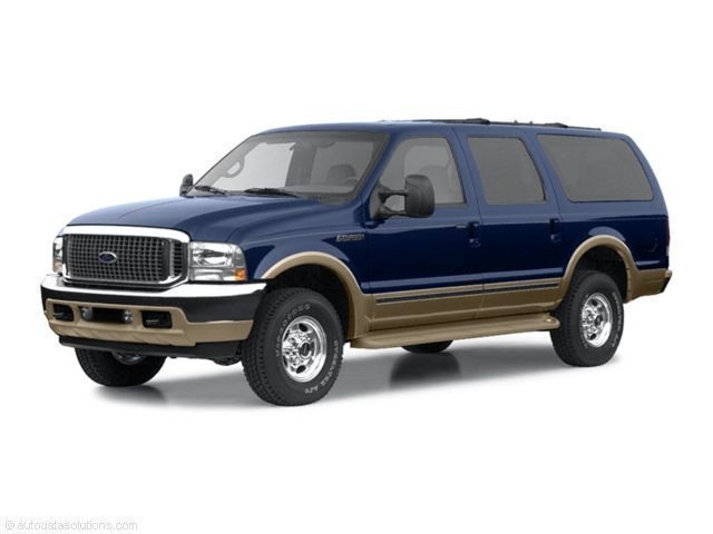 Photo Used 2002 Ford Excursion 137 WB 7.3L Limited For Sale in Seneca, SC