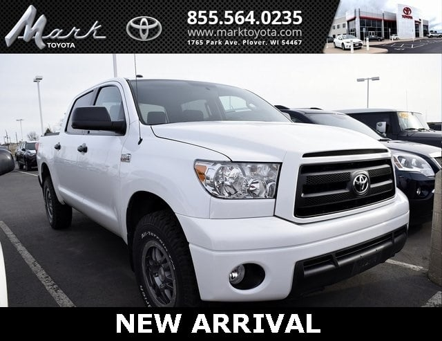 Photo Certified Pre-Owned 2012 Toyota Tundra Grade CrewMax 5.7L V8 4X4 WTRD Rock Warrior Packa Truck in Plover, WI