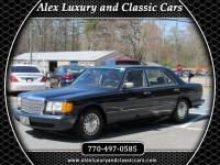 1989 Mercedes-Benz 300 SEL sedan