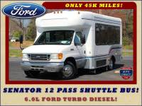 2006 Ford Econoline Commercial Cutaway E350 12 PASS Shuttle Bus/Van - 6.0L DIESEL!
