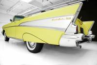 1957 Chevrolet Bel Air Convertible Yellow/Yellow 283 4bbl Automatic PB