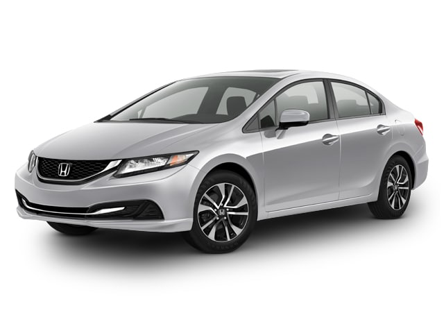 Photo Used 2015 Honda Civic EX Sedan for sale in Barstow CA