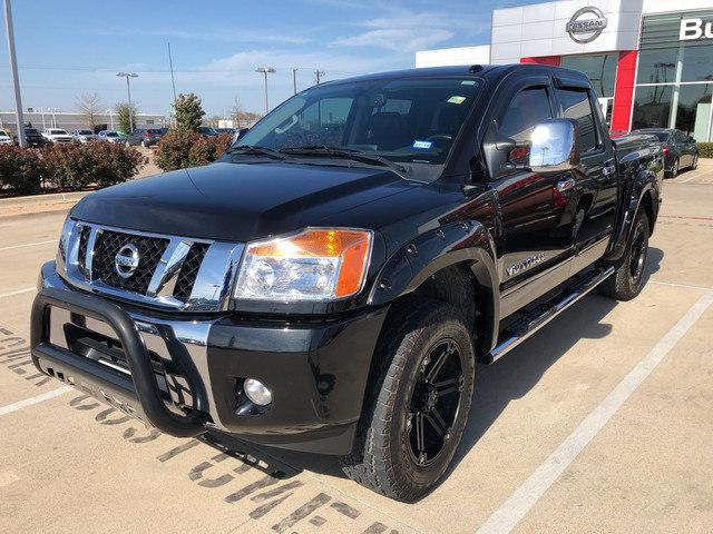 Photo 2014 Nissan Titan SL Truck Crew Cab For Sale in Burleson, TX