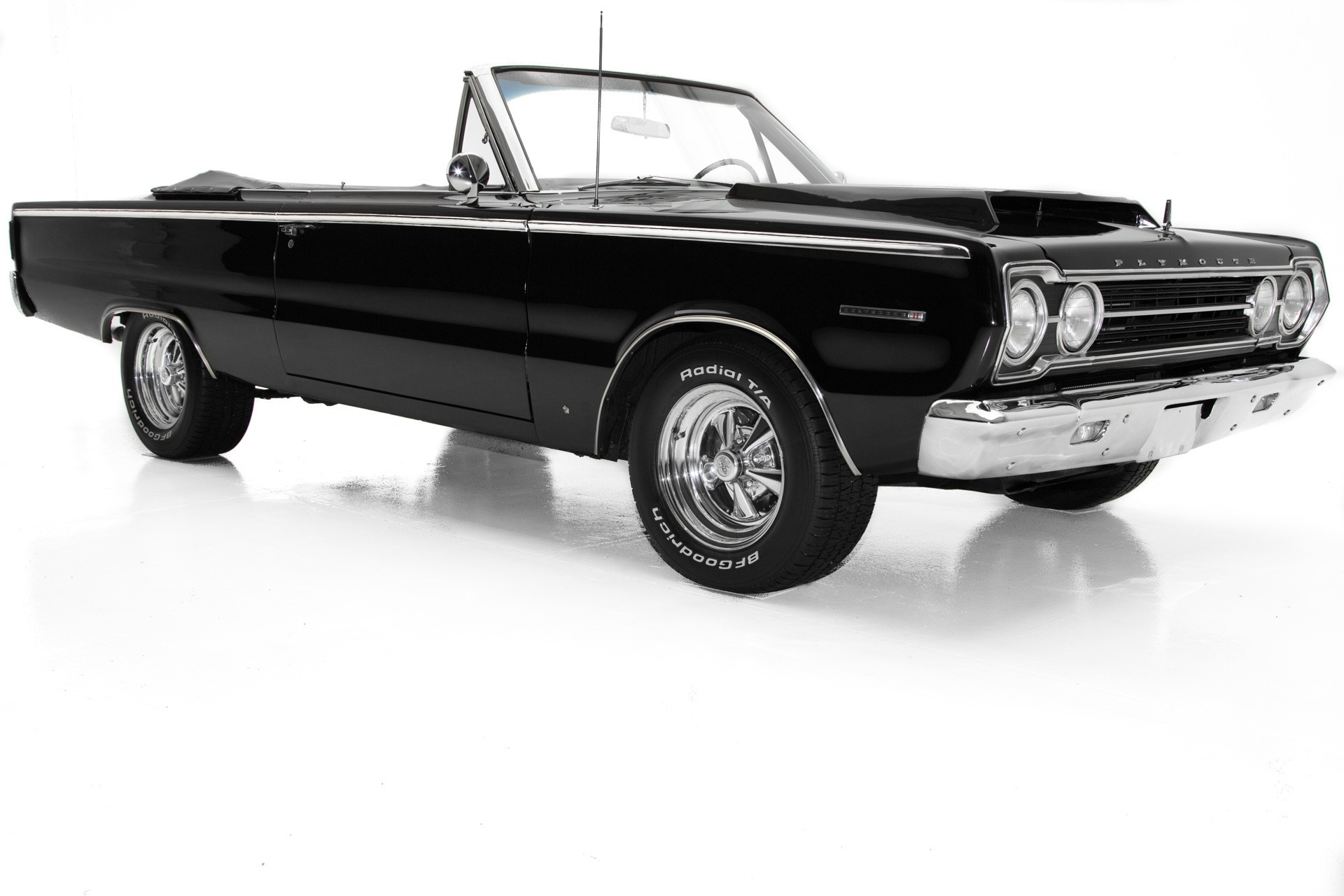 Photo 1967 Plymouth Belvedere II Triple Black New 360 Great Car WHOLESALE CLEARANCE PRICED 32900