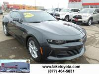 2017 Chevrolet Camaro 1LS Coupe Rear-wheel Drive