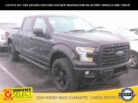 2015 Ford F-150 !Leather-Lifted-Navigation-4X4-V8! Truck SuperCrew Cab V-8 cyl