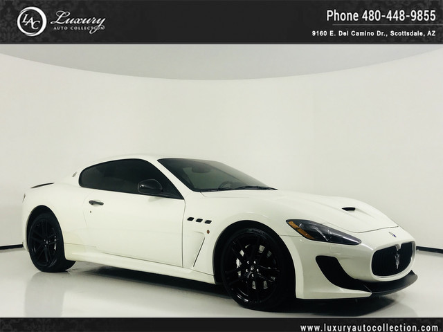 Photo 2014 Maserati GranTurismo MC  Warranties Available  Int  Ext Carbon Pkg  Carbon Steering Wheel   15 13 With Navigation