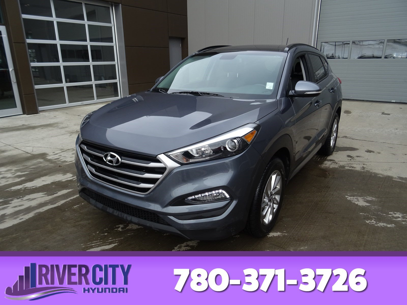 Photo Pre-Owned 2017 Hyundai Tucson AWD SE Leather, Heated Seats, Back-up Cam, Bluetooth, AC,
