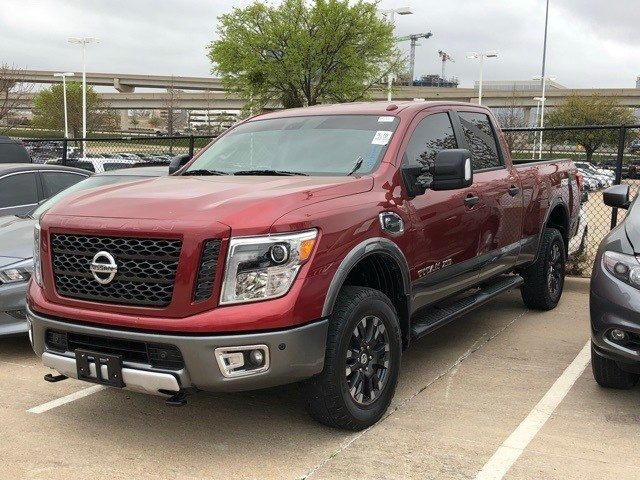 Photo Certified 2016 Nissan Titan XD PRO-4X Truck Crew Cab For Sale in Frisco TX