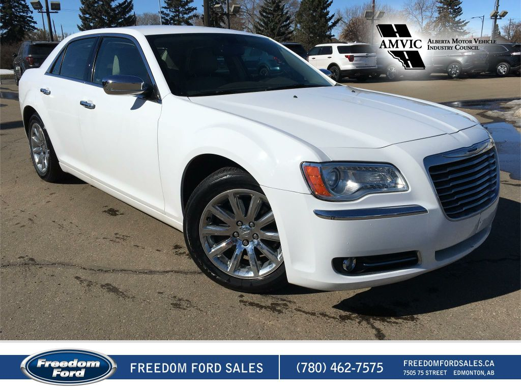 Photo Used 2011 Chrysler 300 Limited Leather, Heated and Cooled Seats Rear Wheel Drive 4 Door Car