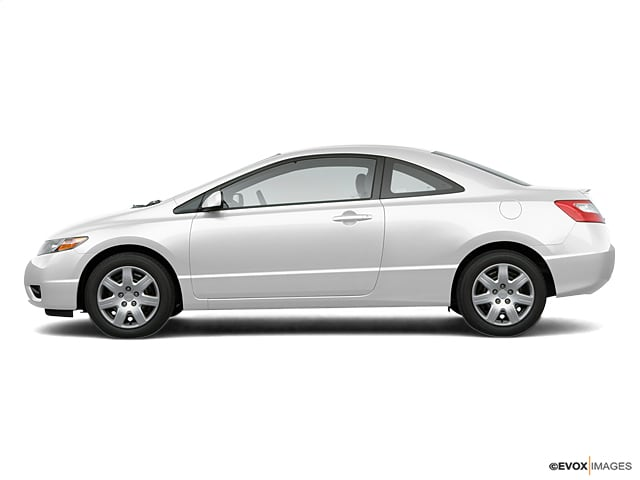 Photo Used 2007 Honda Civic 2dr AT LX for Sale in Temecula