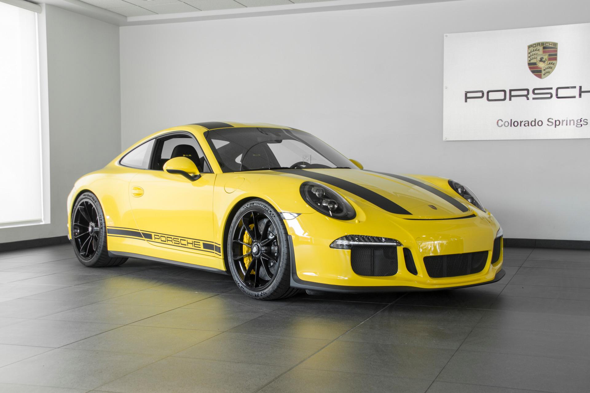 Photo 2016 Porsche 911 911 R