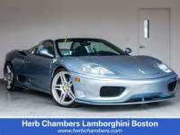 Pre-Owned 2003 Ferrari 360 Modena Spider F1 Convertible near Boston, MA