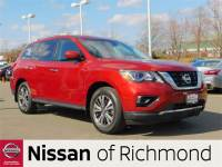 Pre-Owned 2017 Nissan Pathfinder S FWD 4D Sport Utility