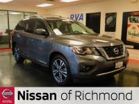 Pre-Owned 2017 Nissan Pathfinder Platinum FWD 4D Sport Utility