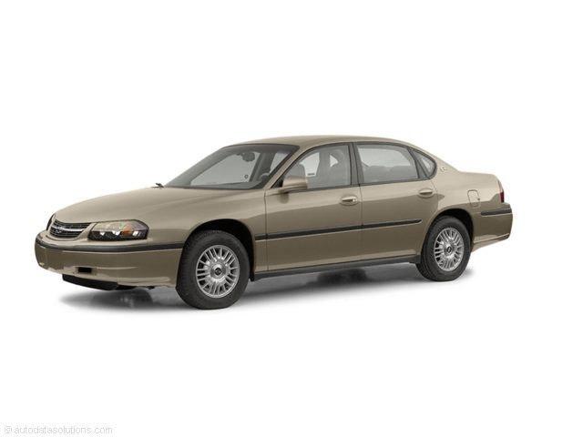 Photo 2003 Chevrolet Impala LS Sedan Front-wheel Drive For Sale  Lansing, MI