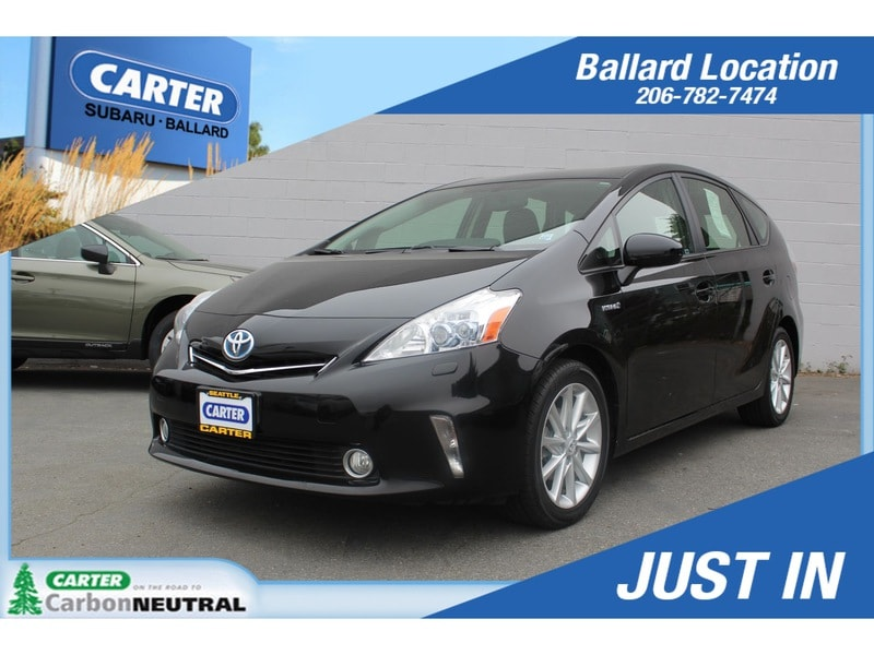 Photo Used 2012 Toyota Prius v Three for Sale in Seattle, WA