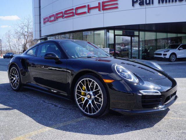 Photo Certified Pre-Owned 2015 Porsche 911 Turbo S With Navigation  AWD