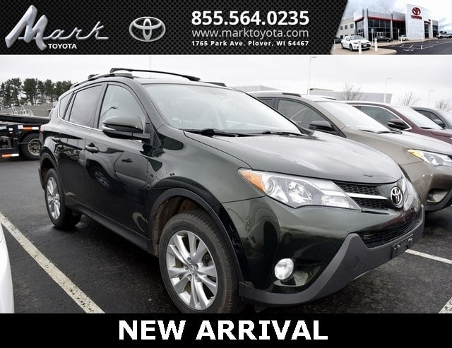 Photo Used 2013 Toyota RAV4 Limited All Wheel Drive wEntune JBL Navigation, H SUV in Plover, WI