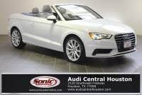 Used 2015 Audi A3 1.8T Premium (S tronic) Cabriolet in Houston, TX