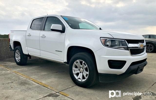 Photo Used 2018 Chevrolet Colorado 4WD LT, Alloy Wheels, Navigation, Back Up Camera. Truck Crew Cab For Sale San Antonio, TX