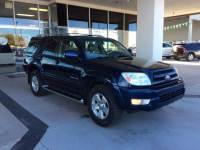 PRE-OWNED 2004 TOYOTA 4RUNNER 4DR LIMITED V6 AUTO 4WD 4WD