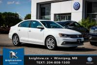 Certified Pre-Owned 2015 Volkswagen Jetta Sedan Highline TDI w/ Leather/Sunroof 0.9% Financing Available OAC FWD 4dr Car