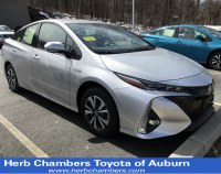 Used 2017 Toyota Prius Prime 5-Door Four Advanced Hatchback Front-wheel Drive in Auburn, MA