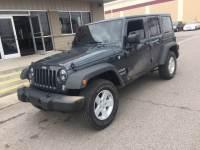 Used 2017 Jeep Wrangler JK Unlimited Sport 4x4 For Sale Oklahoma City OK