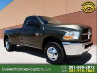 2012 Dodge Ram 3500 ST SINGLE CAB LWB DRW 4WD