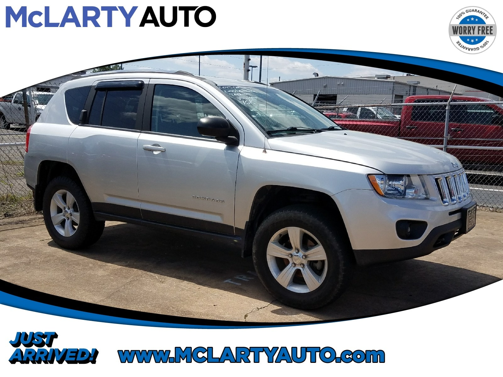 Photo Pre-Owned 2013 Jeep Compass Sport 4x4 in Little RockNorth Little Rock AR