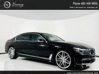 2017 BMW 7 Series 740i | Custom Wheels | Htd & Cooled Seats | Lane Assist | 18 16 With Navigation