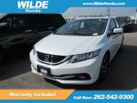 Certified Pre-Owned 2015 Honda Civic EX-L FWD 4dr Car