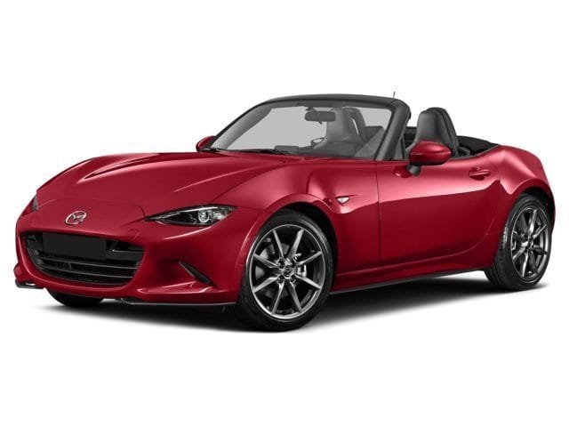 Photo 2016 Certified Used Mazda Mazda MX-5 Miata Convertible Club Soul Red For Sale Manchester NH  Nashua  StockPS5812