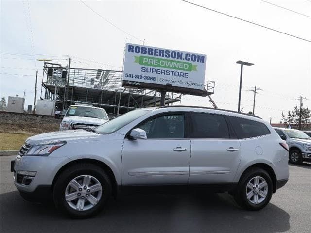Photo Used 2014 Chevrolet Traverse LT w2LT All-wheel Drive For Sale Bend, OR