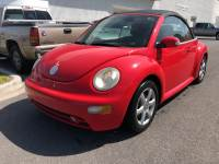 Pre-Owned 2004 Volkswagen New Beetle Convertible GLS Turbo Front Wheel Drive Coupe