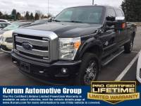 Used 2014 Ford F-350 Truck Crew Cab V-8 cyl for Sale in Puyallup near Tacoma