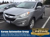 Used 2013 Hyundai Tucson Limited w/Pzev SUV I-4 cyl for Sale in Puyallup near Tacoma