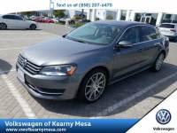 2012 Volkswagen Passat SE w/Sunroof & Nav Pzev Sedan Front Wheel Drive